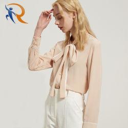 الصيف المرأة القمصان القمصان السيدات تصميم بلوزة طويلة الأكمام