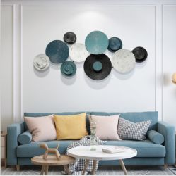 Metallentwurf und -eisen legen Wand-Kunst für Hauptdekoration beiseite