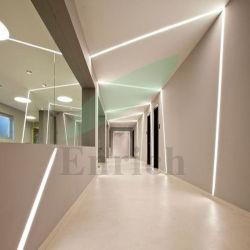 Corridor Lumière linéaire Trimless encastrés à LED pour mur/plafond
