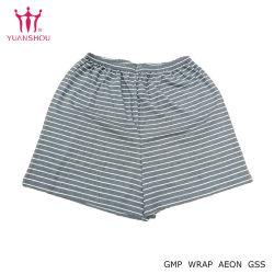 Menino de algodão de lazer personalizados/homem/mulher Calças de malha listrado Curto/Calças/Homem Roupas Homewear/Pants da marca do grupo