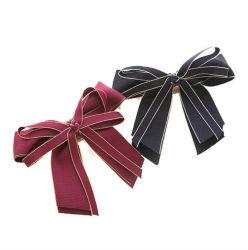 Accesorios para el pelo de color sólido tejido fila Hair Clip