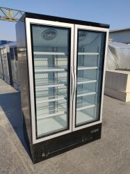 système de refroidissement du ventilateur réfrigérateur commercial