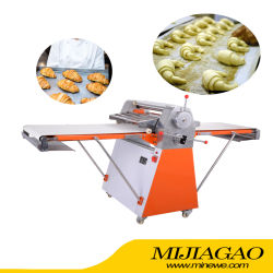 Rodillo de alta eficiencia comercial de Pizza Pizza masa para pizza Sheeter pulsando Croissant Pastray máquina máquina de hacer decisiones Sheeter Snack