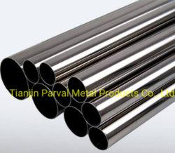 البيع الأفضل 201 202 304 SUS304 304L 316L الملحوم من الفولاذ المقاوم للصدأ أنابيب فولاذية/أنابيب بدون أنبوبها، الطبقة النهائية من فرشاة تنظيف الفرشاة، 2b Ba 6K 8K الأنبوب المستدير للسطح 1.4845 1.4401