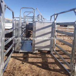 Bovinos de Metal Galvanizado Padrão da Austrália Corral Painel da Barragem