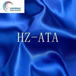 Prodotto chiffon intessuto lucido del raso di seta del poliestere 50d con il vestito da alta qualità