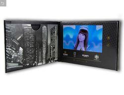 Scheda di pubblicità dello schermo dell'affissione a cristalli liquidi video