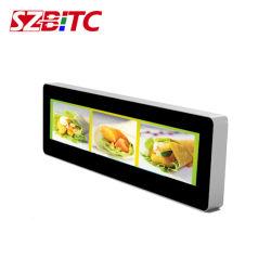 28 pouces écran LCD double bande latérale pour Top Taxi, Mall