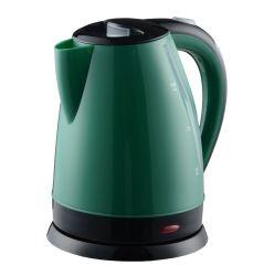 Plástico de color verde hervidores eléctricos para el té café