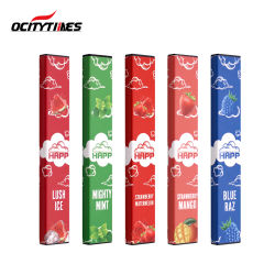 Hottest Ocitytimes Commerce de gros 5 % E cigarette Mini Pod Vape jetables