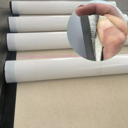 Pre-Toegepast HDPE of het koud-Toegepaste Zelfklevende Waterdichte Membraan van het niet-Asfalt van het Membraan (met ziplapkleefstof)