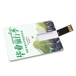 شعار الليزر على شكل قلم معدني USB Flash Drive شعار الليزر هدية هدية محرك أقراص USB/ذاكرة USB