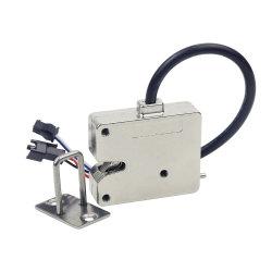 KERONG 12V 24V sin llave de bloqueo electromagnético de aleación de zinc de bloqueo de control eléctrico para el armario de almacenamiento