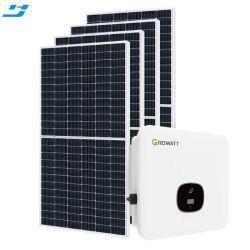 على الشبكة إضاءة 10 كيلو واط 5 كيلو واط 20 كيلو واط الطاقة الكهروضوئية الشمسية المحمولة نظام PanelSystem المنزلي مع Knits