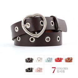 Groothandel Hot Heart Buckle Design eenvoudige Fashion Belt
