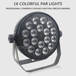 6in1 het Aluminium 18X18W toont het Licht van het Effect van het Stadium van de Partij