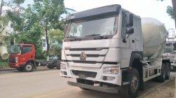 HOWO Sinotruk 유로 3 섞는 시멘트를 위한 디젤 엔진 Enging 4-15m3 부피 측정 유형 구체 믹서 트럭