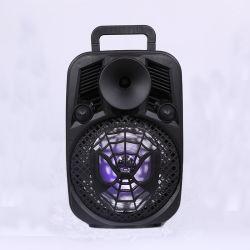 Portable Sub-Woofer potente sistema de som Radio Colunas Bluetooth com pega