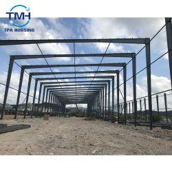 Struttura d'acciaio prefabbricata del materiale da costruzione della costruzione per il magazzino della fabbrica