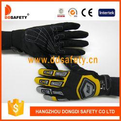 De zwarte en Gele het Rennen van de Sport Handschoenen van de Fiets
