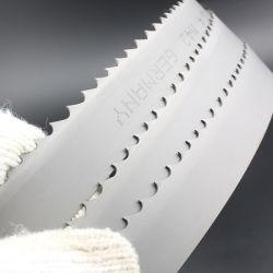 Hoja de sierra de la banda de carburo de hierro de acero de metal duro serrar Bi-Metal aluminio Cortante de Hoja de sierra en Alemania