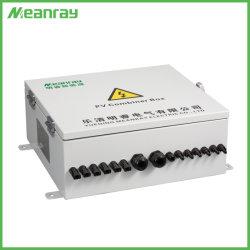Sistema Solar PV CC caja combinadora de entrada de 6 cuerdas 1 Salida Ccombiner IP65 caja de fusibles y SPD