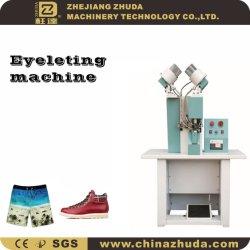 Sac à chaussures double face et du vêtement Eyeletting Machine automatique de la perforation &