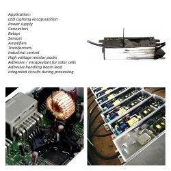 Composto de borracha de silicone de duas partes para LED de envasamento/PCB/GPU/CPU