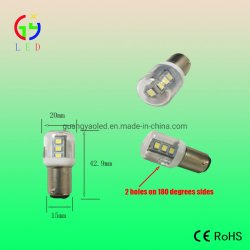 LED T20 BA15D Luces Indicadoras de equipamientos eléctricos, LED Ba15s/BA15D Automático bombillas LED, luces de vehículo Bayomet