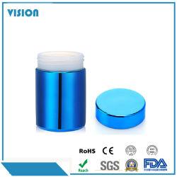 13oz de gros pot de plastique HDPE Canister brillant conteneur de l'emballage alimentaire de stockage