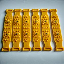 SGSはTPUのスリップ防止プラスチックトラクター車の雪鎖を証明した