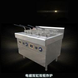 多機能ステンレススチール製加圧チキンコウワーズチップ真空ディープ フライス器機械ポットアクセサリー