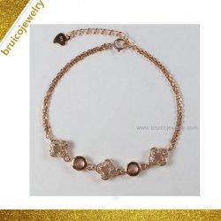 Фантазии очарование закрывается золотого цвета моды роскошный браслет для женщин