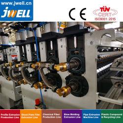 Lijn/de Extruder/de Machine van de Uitdrijving van het Blad van China de pp Golf door Jwell