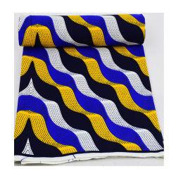 Druck-Wachs-Gewebe-Kleider 100% der Qualitäts-Baumwolle24*24 reale afrikanische/Dame Dress/Handtaschen