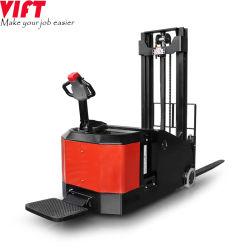 Vft Brand New Counter Balance Standing Electric Stacker Reach Truck Power Stacker