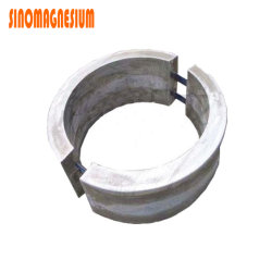 Bracelete anodo sacrifical de liga de magnésio China Fabricante