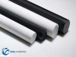 Folha de POM Anti-Static ESD plástico acetal Barras Redondas Rod Cnt-R7 para máquina de teste à prova de água