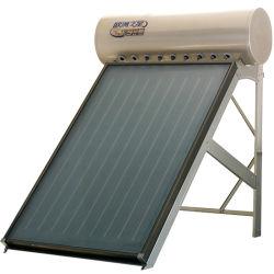 Revestimento azul Pressão Alta Energia Solar Térmica da placa plana Painel do coletor de água solares do Sistema de Aquecimento