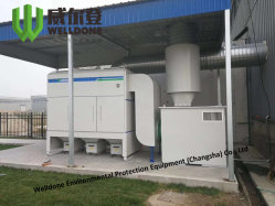 Het oppoetsen Filtratie van het Stof van de Extractie van de Damp van de Collector van het Stof de Industriële Scherpe