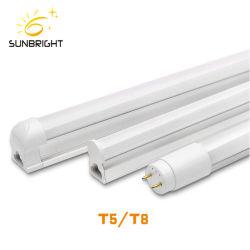 1200mm lineal fluorescente T8 vaso de plástico LA LUZ DEL TUBO LED T5.