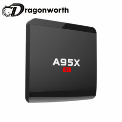 Android TV Box UN95X R1 S905W 1G 8G Cable Media Player Android TV Box HD de Video Digital Media Player