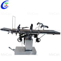 医学のステンレス鋼の多目的手動油圧外科手術台