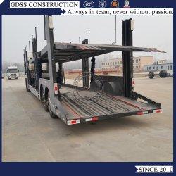 2 enkele wielerassen Transport SUV Skeleton frames Flatbed Self Stortplaats kipwagen oplegger