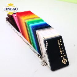 Jinbao 12mm 4mm 2mm decorativos de hierro fundido clara ESD de color perla de Ópalo de plexiglás Placa de panel de pared de plástico acrílico de la hoja de Perspex junta