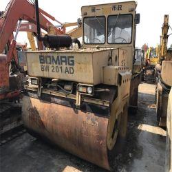 Bomag fabricado na Alemanha Bw201AD usado na venda do Rolete de estrada do trator de esteiras