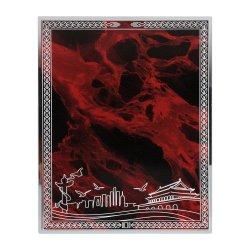 Уникальная конструкция схемы, заводская прямых продаж, контент можно настроить, Красный затенения Silver рамы, тема алюминиевую пластину, награды