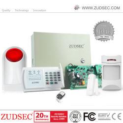 Systeem van het Alarm van de Veiligheid van het Controlebord van het Alarm GSM/PSTN van Zudsec het Draadloze & Getelegrafeerde voor de Veiligheid van het Huis