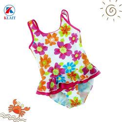 OEM 주문 꽃 다채로운 인쇄된 아이 최신 섹시한 소녀 수영 착용