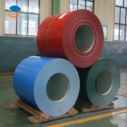 PPGI/HDG/gi/dété Dx51 recouvert de zinc laminé à froid/chaud feux une variété de couleurs tendance PPGL PPGI bobine en acier galvanisé recouvert de couleur